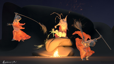 Coven. Light my fire! | fancyart3d