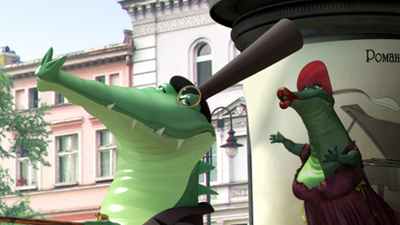 The Crocodile of Tverskaya Street | fancyart3d