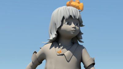 Little girl | fancyart3d