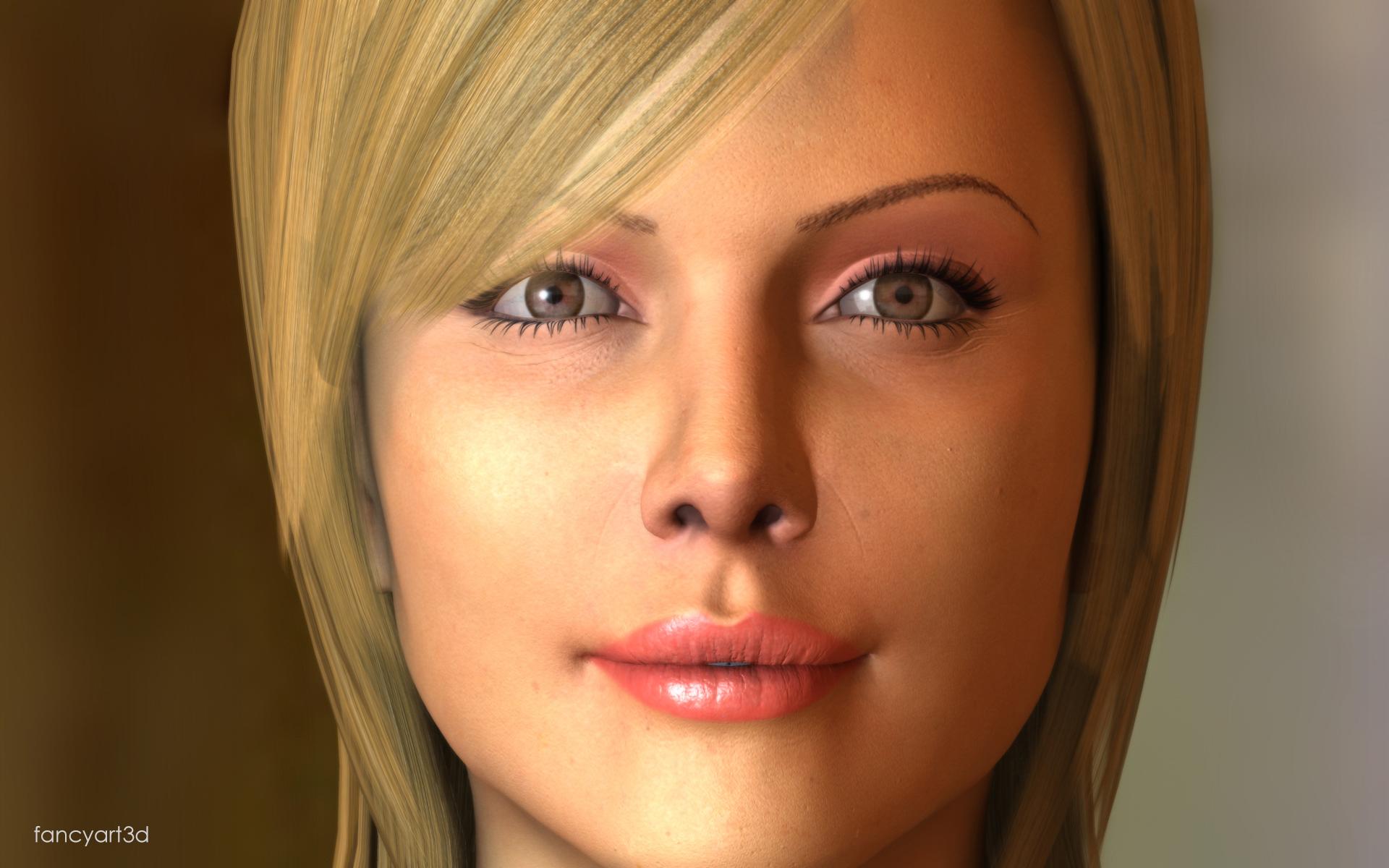 fancyart3d: Pretty Girl